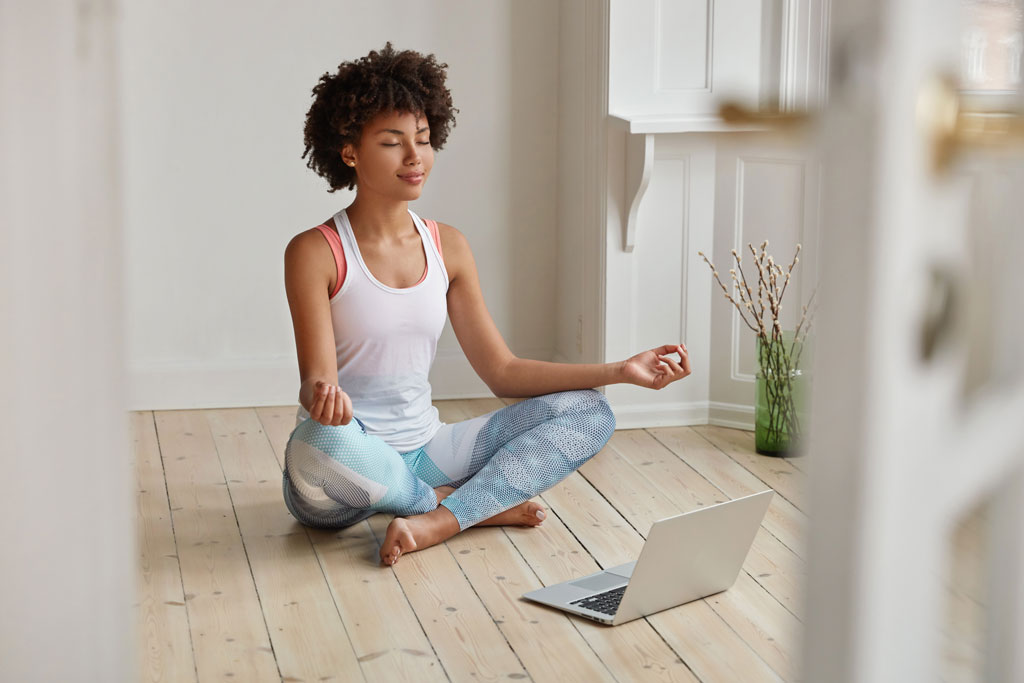 Simple meditation.
